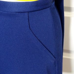 Vintage Blue Mini Skirt